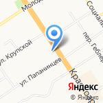 Домашний доктор на карте Барнаула