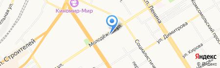 Корзинка Элис на карте Барнаула