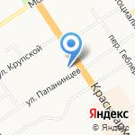 Плюшки Краюшки на карте Барнаула