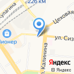 Атлас Алтая на карте Барнаула