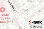 Схема проезда до компании Архисидек в Барнауле