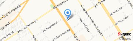 CoffeeLike на карте Барнаула