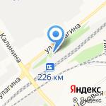 К-9 на карте Барнаула