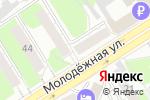 Схема проезда до компании Воздушный замок в Барнауле