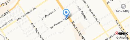 Лавка №1 на карте Барнаула