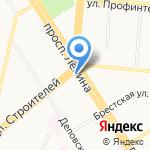 S7 Airlines на карте Барнаула