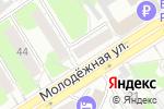 Схема проезда до компании ПРОФИ-ДЕНТ в Барнауле