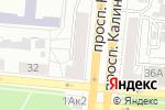 Схема проезда до компании Brushet в Барнауле