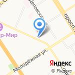 Крем на карте Барнаула