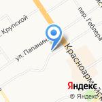 Пилот на карте Барнаула