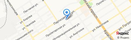 Ветеринарная клиника доктора Угрюмова на карте Барнаула