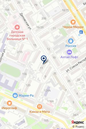 ФГУ УНИВЕРСИТЕТ АЛТАЙСКИЙ ГОСУДАРСТВЕННЫЙ МЕДИЦИНСКИЙ УНИВЕРСИТЕТ на карте Барнаула