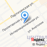 Мастерская по ремонту автомобилей на карте Барнаула