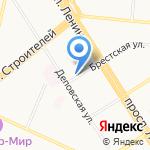 Печки-Lavочки на карте Барнаула