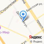 Краевая детская стоматологическая поликлиника на карте Барнаула