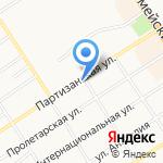 ИНС на карте Барнаула