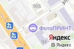 Схема проезда до компании Идеальная Пара в Барнауле