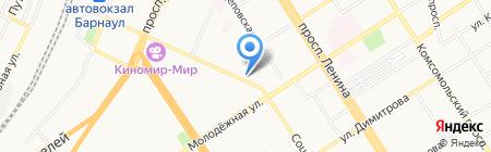 Подворье на карте Барнаула