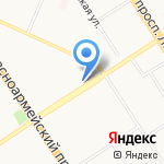 1001 Тур на карте Барнаула