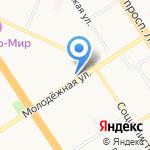 ПРОФИ-ДЕНТ на карте Барнаула
