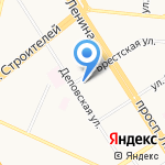 Love на карте Барнаула