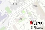 Схема проезда до компании Букет в Барнауле