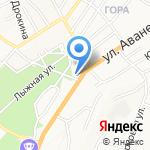 Почтовое отделение №45 на карте Барнаула