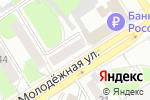 Схема проезда до компании Шарло в Барнауле