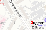 Схема проезда до компании Peppermint в Барнауле