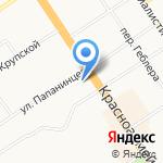Ками-Алтай на карте Барнаула