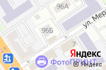 Схема проезда до компании BUFFALO в Барнауле