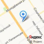 Бисер на карте Барнаула