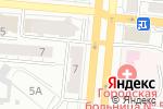 Схема проезда до компании Колор в Барнауле