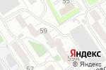 Схема проезда до компании Мастерская в Барнауле