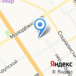 Азбука на карте Барнаула