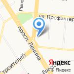Виктория на карте Барнаула