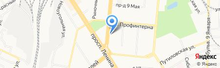 Салон звука на карте Барнаула