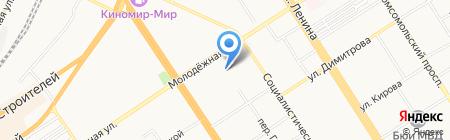 Отдел по охране прав детства Администрации Железнодорожного района на карте Барнаула