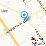 Эко-класс! на карте Барнаула