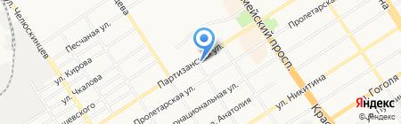 Жизнь на карте Барнаула