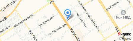 УСПЕХ+ на карте Барнаула