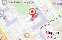 Схема проезда до компании Медиа-Центр в Барнауле