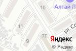 Схема проезда до компании Mo_Da в Барнауле