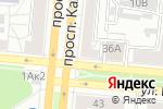 Схема проезда до компании Автогайка в Барнауле
