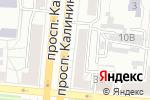 Схема проезда до компании Библиотека №18 в Барнауле
