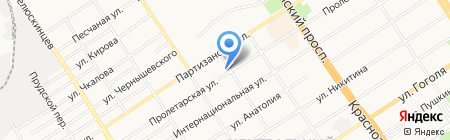 Алтайский краевой центр детско-юношеского туризма и краеведения на карте Барнаула
