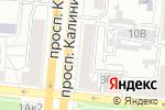 Схема проезда до компании МоторГРУПП в Барнауле