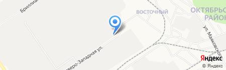 Модуль на карте Барнаула
