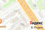 Схема проезда до компании Сбербанк Лизинг в Барнауле