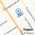 ПолиграфычЪ-Алтай на карте Барнаула